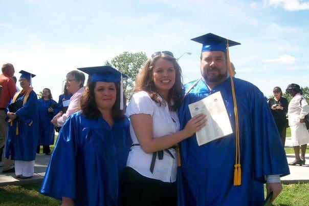 Mom, myself and Dad