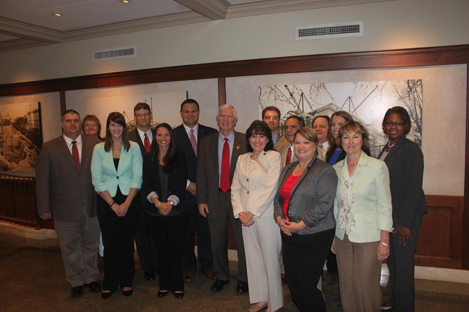 Here is a picture of our group with Congressman Mo Brooks. Enjoy!